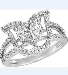 #Canadian #Diamond #ring by E. Schreiber  #gorgeous