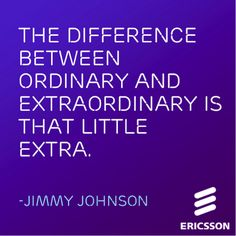 Use this #Ericsson #inspiration quote to push through your #Friday!