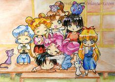 I am back_Sailor Moon by SnowLady7.deviantart.com on @deviantART