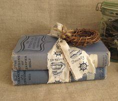 Vintage Blue Book Bundle