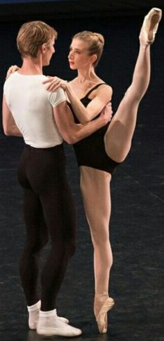 """Myriam Ould Braham and Karl Paquette in """"Agon"""""""