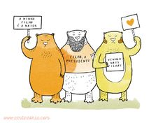 Pai feminista | Feminist father | Paternity | Bear | Urso