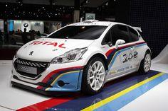 La Peugeot 208 Type R5 au Mondial de l'Automobile de Paris 2012