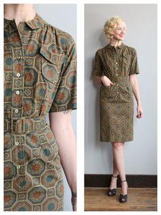 1960s Dress // Westbury Sheath Dress // vintage by dethrosevintage