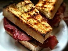 Grilled, not Griddled Ham Sandwich by Bonafide Farm Food