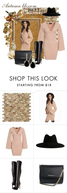 """""""Bell Sleeves"""" by prettyangel-1 on Polyvore featuring mode, AX Paris, Yves Saint Laurent, Sam Edelman, Givenchy et Effy Jewelry"""