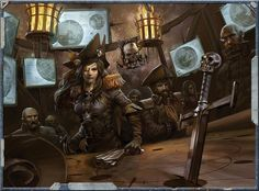 Come and find out exactly what life is like for a lucrative Space Pirate in the millennium in today's Warhammer Lore. Warhammer Fantasy, Warhammer 40k Rpg, Warhammer Games, Warhammer Models, Rogue Traders, Space Pirate, Futuristic Art, Space Marine, Sci Fi Art