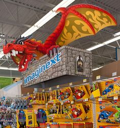Imaginext Dragon Castle Walmart Header