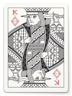 Gorgeous Playing Cards by Tyler Deeb