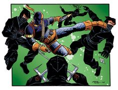 Slade Wilson-Deathstroke by 93Cobra