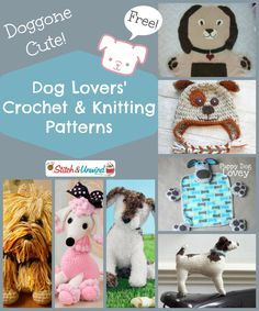 Doggone Cute! Dog Lovers' Crochet and Knitting Pattern Round-Up