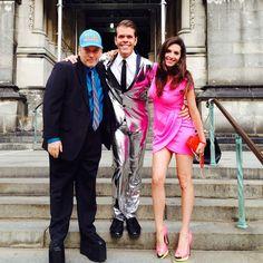 Perez Hilton, Benjy Bronk & Elisa Jordana Howard Stern Show, Fashion, Moda, Fashion Styles, Fasion