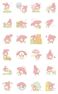 画像 - My Melody Animated Stickers by Sanrio - Line.me