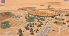Project Eagle Mars base by Blackbird Interactive & NASA's JPL