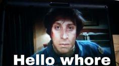 Howie is saying hello. #bigbangtheory #bigbang #comedygold #comedy #entertainment #lol