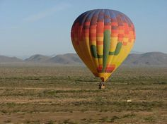 Hot Air Expeditions- we can see these from school all the time!