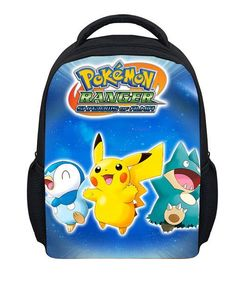 9da3d49d9d Pokemon school fashion bag 3D backpack