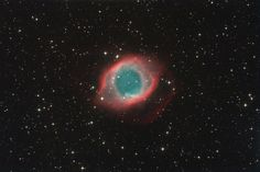 The appearance of Helix Nebula resembles a helix, viewed from above, close to its axis, hence the name.
