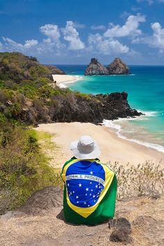 "Fernando de Noronha, Brasil. <a class=""pintag searchlink"" data-query=""%23Viagem"" data-type=""hashtag"" href=""/search/?q=%23Viagem&rs=hashtag"" rel=""nofollow"" title=""#Viagem search Pinterest"">#Viagem</a>"