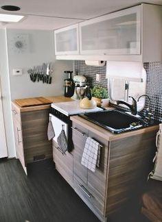 Camper Van Modern Kitchen By Cinnamon