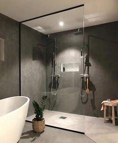 Stunning 35 minimalist bathroom design ideas for modern home decor . - Stunning 35 minimalist bathroom design ideas for modern home decor gurudecor … - Bathroom Design Inspiration, Bad Inspiration, Bathroom Interior Design, Home Interior, Design Ideas, Interior Ideas, Blog Design, Interior Paint, Design Trends