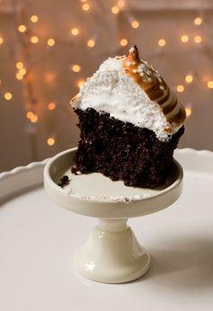 Marshmallow Chocolate Cupcake