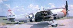 USAAF 44 89444 P 47N Thunderbolt