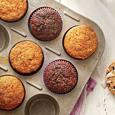 Southern Living, January 2014 Page 113  | Carrot-Poppy Seed Muffins | MyRecipes.com