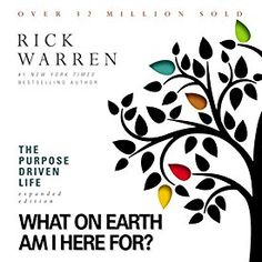 "Another must-listen from my #AudibleApp: ""The Purpose Driven Life: What on Earth Am I Here For?"" by Rick Warren, narrated by Rick Warren."