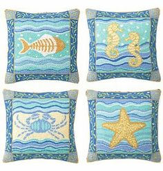 Cute pillows, great colors!