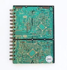 upcycled circuit boa