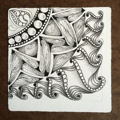 Doodles Zentangles, Zentangle Patterns, Dragonair, Love Art, Tangled, Drawings, Creative, Artist, Watercolour Painting