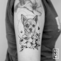 Ideas dogs tattoo memorial chihuahua for 2019 Chihuahua Tattoo, Dogs Tattoo, Tattoo Perro, Cat Tattoo, Chihuahua Dogs, Chihuahuas, Wolf Tattoos, Arrow Tattoos, Animal Tattoos
