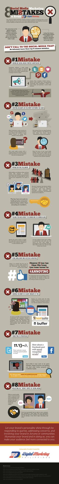8 Social Media Marketing Mistakes to Avoid by Digital Marketing Philippines