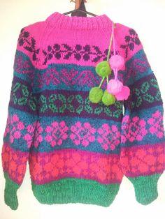 Sweaters andinos de alpaca peruana. ♡ Origen: Cusco, Perú ♡
