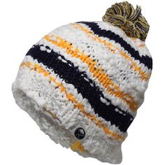 Reebok Buffalo Sabres Ladies Crocheted Knit Hat - White/Navy Blue/Gold by Reebok. $19.95. One size fits most. Imported. Woven graphics. Sewn-on logo. Officially licensed NHL product. Reebok Buffalo Sabres Ladies Crocheted Knit Hat - White/Navy Blue/GoldImportedOfficially licensed NHL productOne size fits most100% AcrylicWoven graphicsSewn-on logo100% AcrylicOne size fits mostWoven graphicsSewn-on logoImportedOfficially licensed NHL product