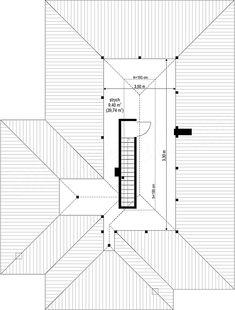 Projekt Dom na miarę 102,15 m2 - koszt budowy 208 tys. zł - EXTRADOM Line Chart, Bar Chart, House Plans, How To Plan, Houses, Plants, Bar Graphs, House Floor Plans, Home Plans