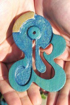 Miniature Quartetclock #ACEO #ATC #Zibbet
