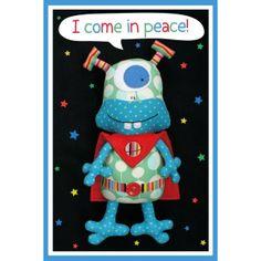 Naaipatroon van I Come in Peace