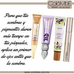 #TipDeMaquillaje- Para que tus #sombras y #pigmentos duren más tiempo aplica un #primer de ojos antes de empezar con tu #maquillajedeojos
