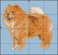 Chow-Chow Chow Chow, Knitted Animals, Beaded Animals, Afghan Patterns, Cross Stitch Patterns, Puppy Day, Animal Quilts, Dog Crafts, Cross Stitch Animals