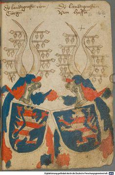Ortenburger Wappenbuch Bayern, 1466 - 1473 Cod.icon. 308 u  Folio 62r