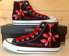 Depeche Mode Rose, Custom Converse