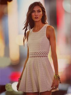 Label: Free People January 2012 Campaign Cover model: Karlie Kloss