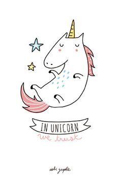 Karte A6-350 Gr-Wahl: Unicorn Cupcake Katze von Sobigraphie auf Etsy                                                                                                                                                                                 Mehr