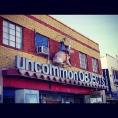 Uncommon Objects is a pretty cool vintage store in Austin, TX.