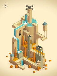Monument Valley 2 is an illusory adventure of impossible architecture and forgiveness by ustwo games Isometric Map, Isometric Design, Isometric Drawing, Game Concept, Concept Art, Monument Valley Game, Mundo Dos Games, Low Poly Games, Best Android Games