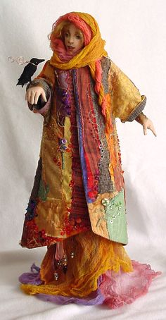 Abundance - Doll Street Dreamers -online doll classes, e-patterns, mixed media art classes, free doll patterns and more