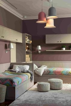 Fine Moderne Deko Ideen Schlafzimmer that you must know, Youre in good company if you?re looking for Moderne Deko Ideen Schlafzimmer Twin Girl Bedrooms, Girls Bedroom Sets, Shared Bedrooms, Small Shared Bedroom, Twin Girls, Trendy Bedroom, Kids Bedroom Designs, Home Room Design, Bed In Corner