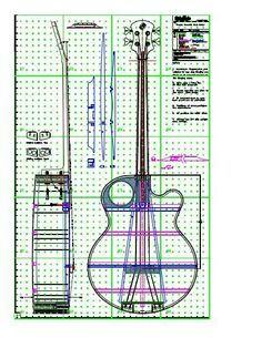 View Or Download Tiled Tinozza Acoustic Bass Guitar Plan Pdf Akusticheskaya Gitara Gitara